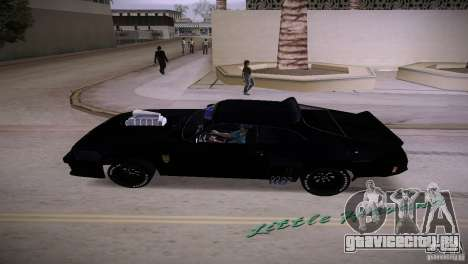 Ford Falcon GT Pursuit Special V8 Interceptor 79 для GTA Vice City вид сзади слева