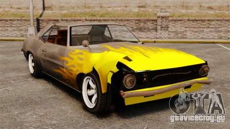 Новые раскраски для ржавых Vigero и Sabre для GTA 4 четвёртый скриншот