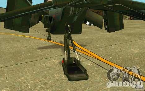 Aliens vs. Predator Marine Drobship для GTA San Andreas вид сбоку