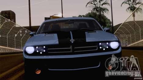 Dodge Challenger SRT8 для GTA San Andreas колёса