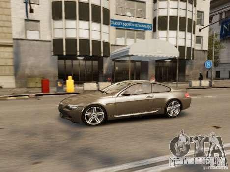 BMW M6 2010 для GTA 4 вид сверху