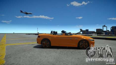 BMW Z4 sDrive 28is для GTA 4 вид слева