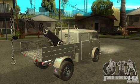 Tempo Matador 1952 Towtruck version 1.0 для GTA San Andreas вид справа