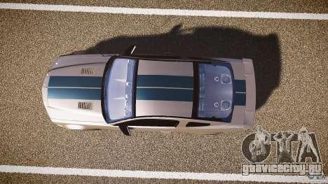 Shelby GT500kr для GTA 4 вид сзади