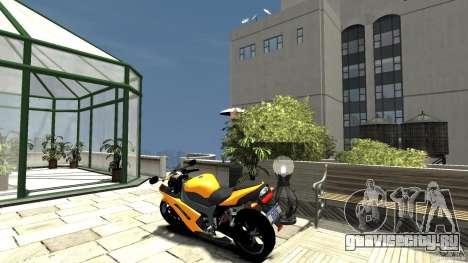 Kawasaki Ninja ZX6R 2008 Beta для GTA 4 вид сзади слева