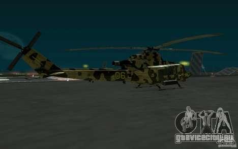 UH-1Y Venom для GTA San Andreas вид слева