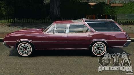 Oldsmobile Vista Cruiser 1972 v1.0 для GTA 4 вид слева
