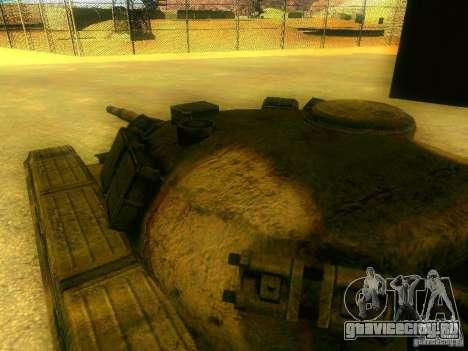 Танк из Игры S.T.A.L.K.E.R для GTA San Andreas вид изнутри