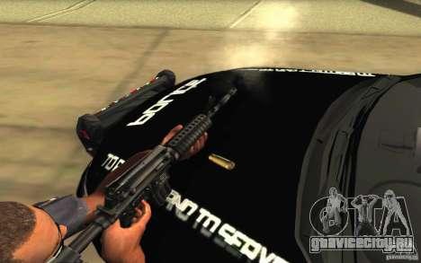 Ford Taurus 2011 LAPD Police для GTA San Andreas двигатель
