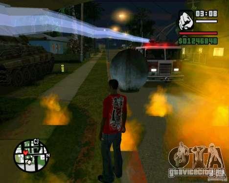 Wrecking ball для GTA San Andreas второй скриншот
