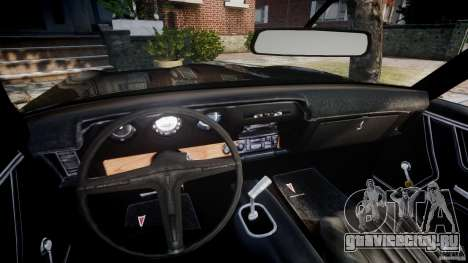 Pontiac GTO Judge для GTA 4 вид сзади