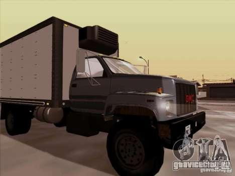 GMC Top Kick 1988 для GTA San Andreas вид сзади слева