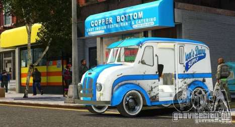 Ford Divco Milk and Icecream Van 1955-56 для GTA 4