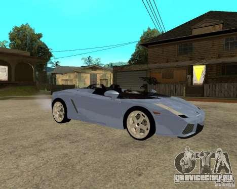 Lamborghini Concept-S для GTA San Andreas вид справа