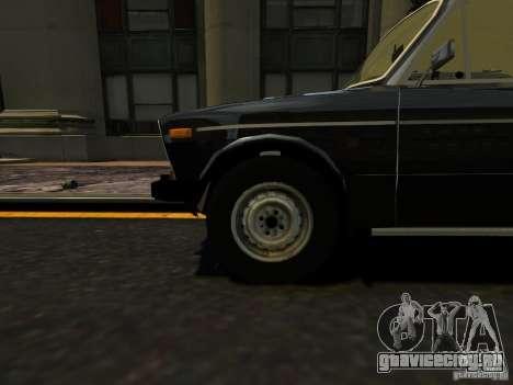 ВАЗ 2106 для GTA 4 вид сзади