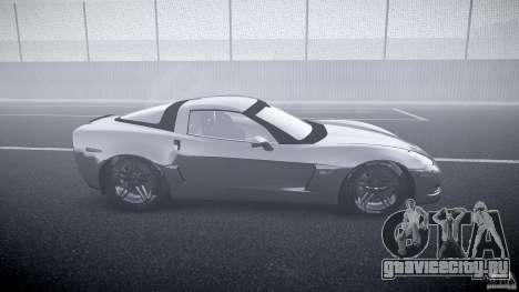 Chevrolet Corvette Z06 1.1 для GTA 4 вид изнутри