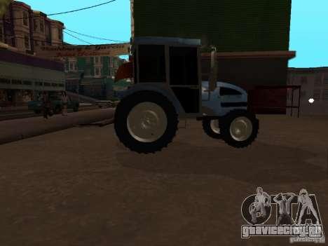 Трактор МТЗ 922 для GTA San Andreas вид сзади слева