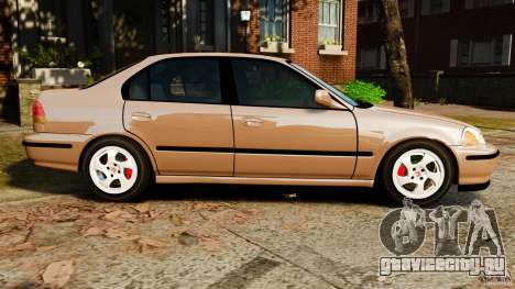 Honda Civic VTI для GTA 4 вид слева