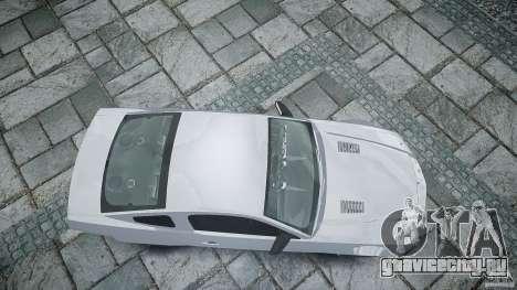 Ford Shelby GT500 для GTA 4 вид справа