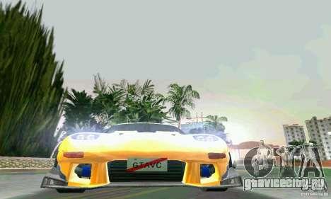 Mazda RX7 RE-Amemiya для GTA Vice City вид сбоку