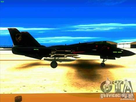 F-14 Tomcat Razgriz для GTA San Andreas вид справа