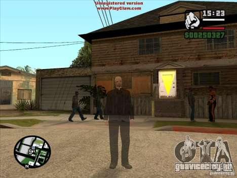 CJ призрак 1 ВЕРСИЯ для GTA San Andreas