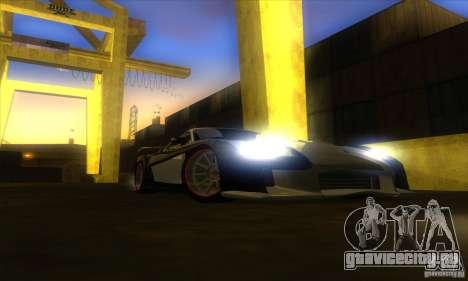 ENB Graphics by KINOman для GTA San Andreas восьмой скриншот