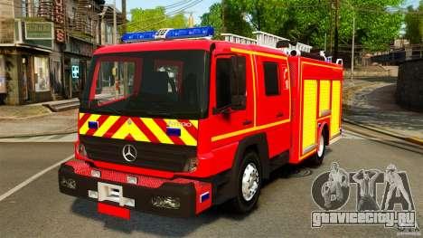 Mercedes-Benz Atego FPTGP Sapeurs Pompiers ELS для GTA 4