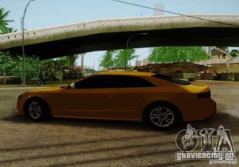 Audi S5 для GTA San Andreas салон