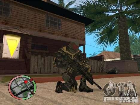 Сборник оружий Crysis 2 для GTA San Andreas второй скриншот