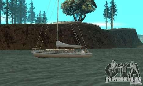 Marquis Segelyacht 09 Textures для GTA San Andreas вид слева