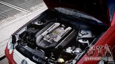 Mercedes-Benz CLK 63 AMG 2005 для GTA 4 вид сзади