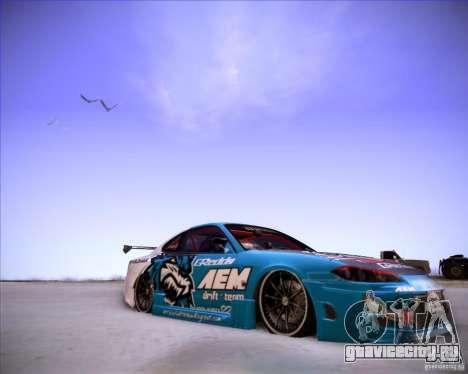 Nissan Silvia S15 Blue Tiger для GTA San Andreas вид справа