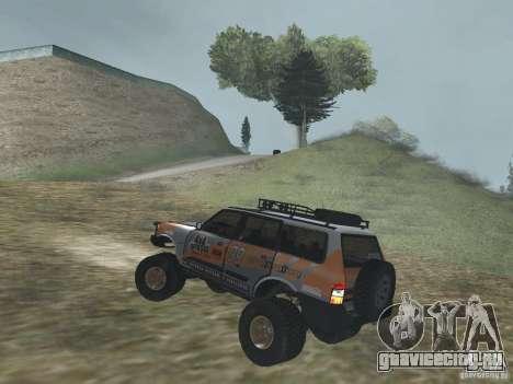 Tornalo 2209SX 4x4 для GTA San Andreas вид сзади слева