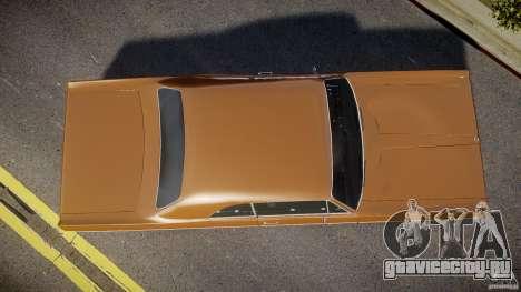 Plymouth Fury III Coupe 1969 для GTA 4 вид справа