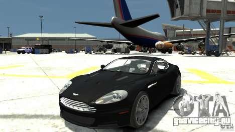 Aston Martin DBS v1.1 Без тонировки для GTA 4