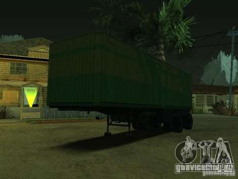 Контейнеровоз + Совтрансавто для GTA San Andreas вид слева