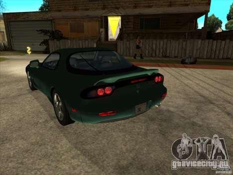 Mazda RX-7 1991-1999 для GTA San Andreas вид слева