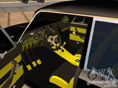 ВАЗ 2103 Тюнинг для GTA San Andreas вид сзади слева