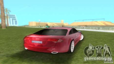 Audi Nuvolari Quattro для GTA Vice City вид справа
