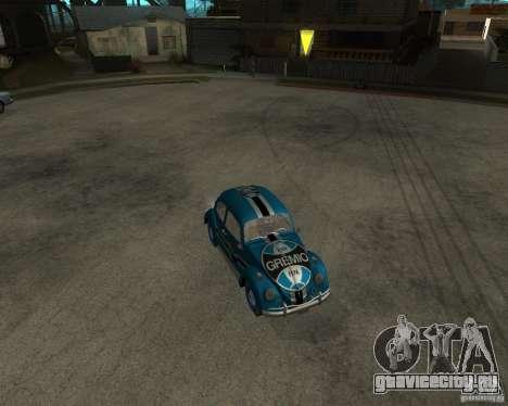 VW Fusca Gremio для GTA San Andreas вид слева