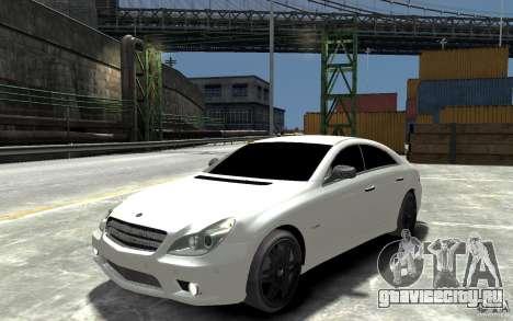 Mercedes Benz CLS Brabus Rocket 2008 для GTA 4