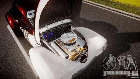 Willys Americar 1941 для GTA 4 вид снизу