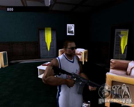 Guns Pack для GTA San Andreas второй скриншот