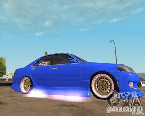 Toyota JZX110 make 2 для GTA San Andreas вид справа