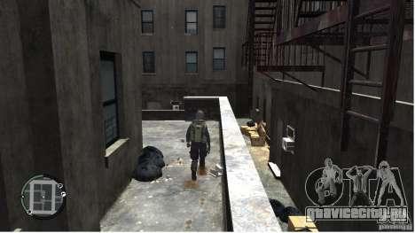 MW2 Ghost Diving Suit для GTA 4 пятый скриншот