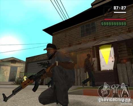 АК 47 из Xenus 2 для GTA San Andreas второй скриншот