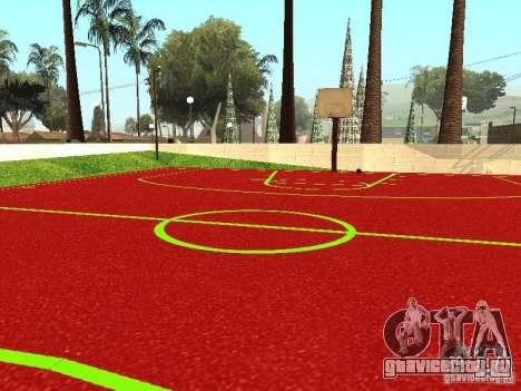 Баскетбольная Площадка для GTA San Andreas третий скриншот