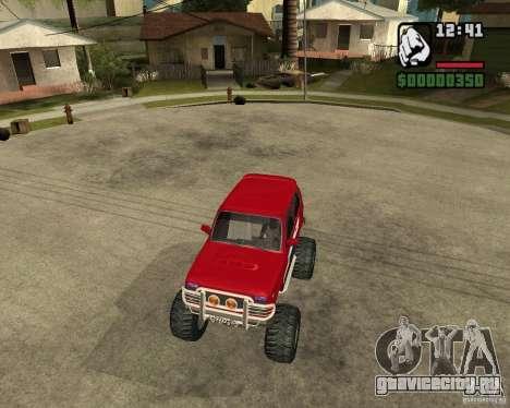 VAZ-21213 4x4 Monster для GTA San Andreas вид сбоку
