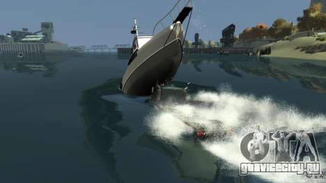 Biff boat для GTA 4 салон